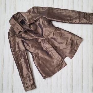 Limited Bronze Irredescent Spring Jacket